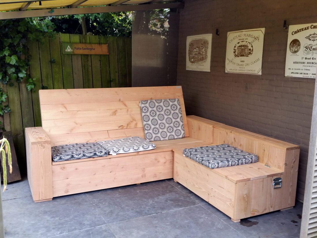 Douglas Hoekbank chaise lounge