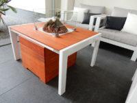 Metalen loungetafel op maat laten maken