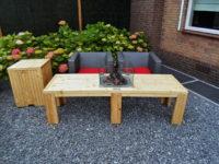 Smalle loungetafel