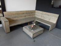 Steigerhouten loungeset laten maken brabant