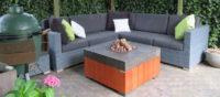 Design loungetafel + gashaard