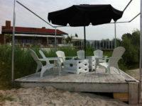 Vuurtafels Beachclub
